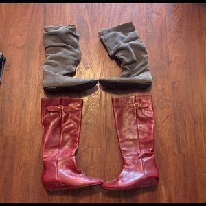 BUNDLE OF STEVE MADDEN BOOTS